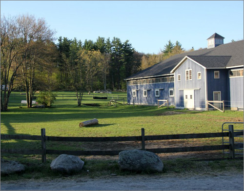 Dunroven Farm, showing field for jumping